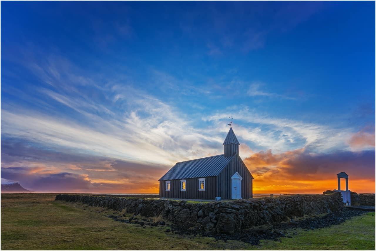 """Stefan Glaß, """"Kleine Kirche von Island"""", Sony SLT A99"""