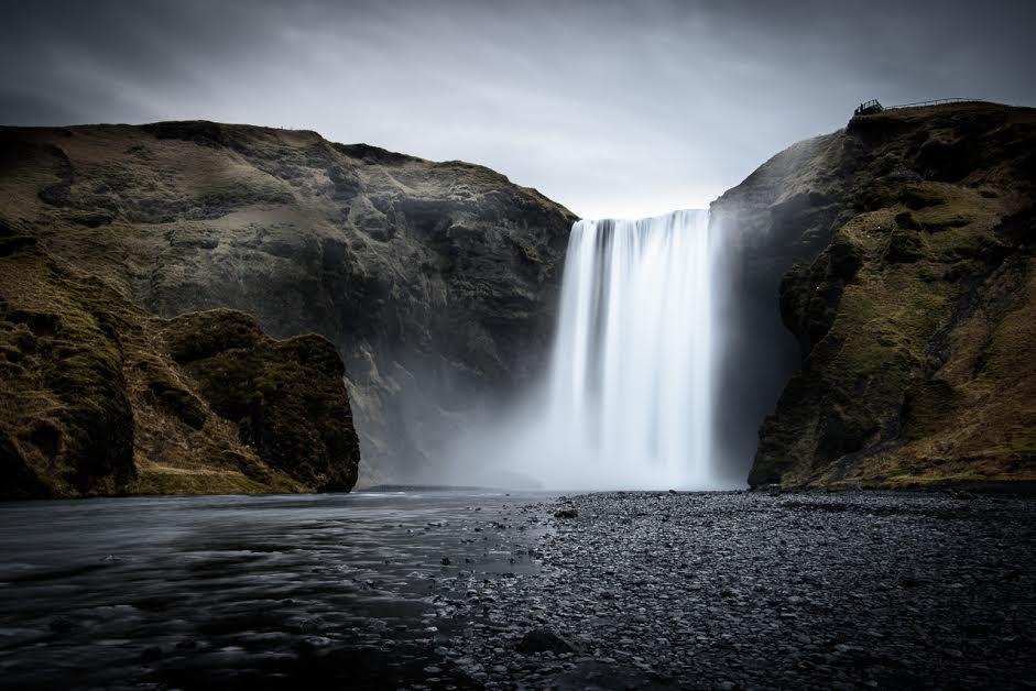 """Angelina Heer,  """"Wasserfall"""", k. A."""