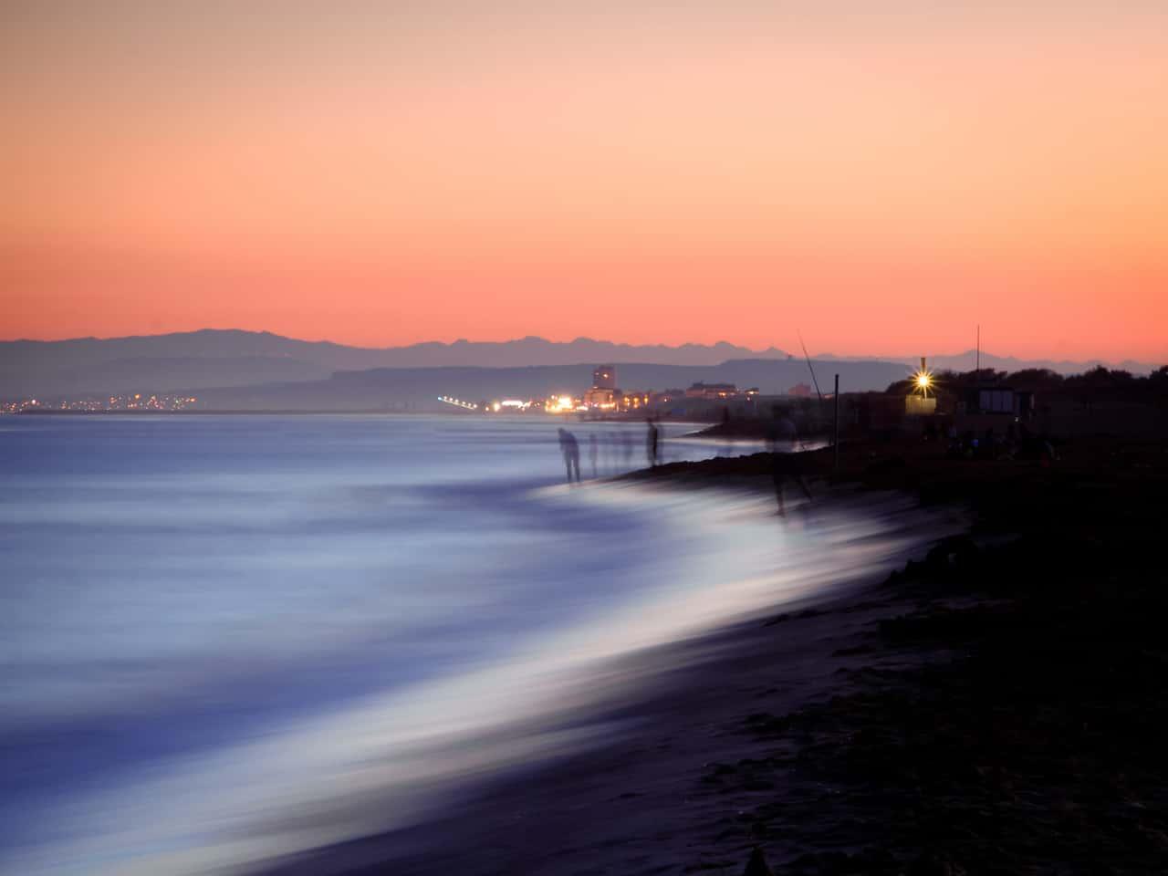 "Stefan Imhof, ""Abendstimmung am Strand"", Canon EOS 600D"