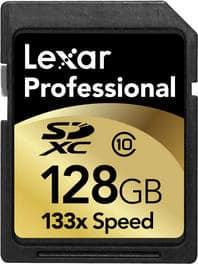 Lexar SDXC Speicherkarte 128 GB