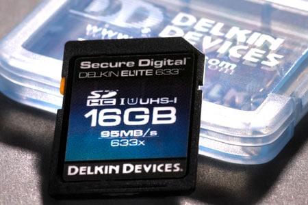 Delkin Elite 633X SDCX Speicherkarte
