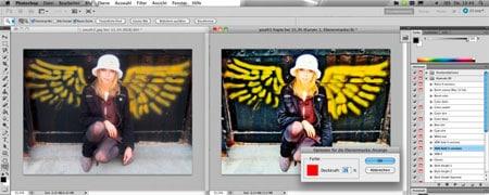Photoshop Aktionsset A la Mode