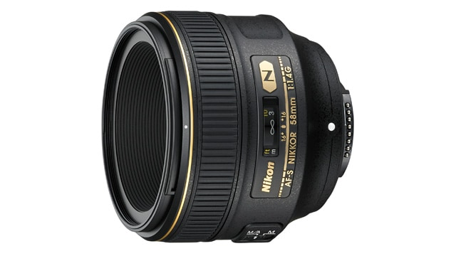 Nikon AF-S Nikkor 1,4/58 mm