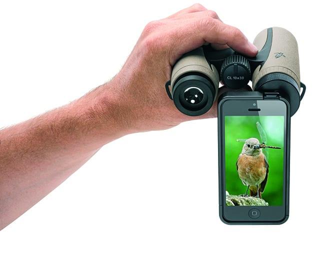 Swarovski optik: mit dem iphone durchs fernglas fotografieren d pixx