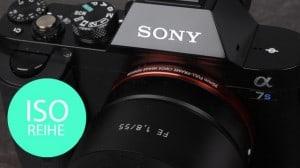 Sony Alpha 7S: ISO-Reihe