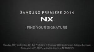 Samsung NX1 kommt zur photokina