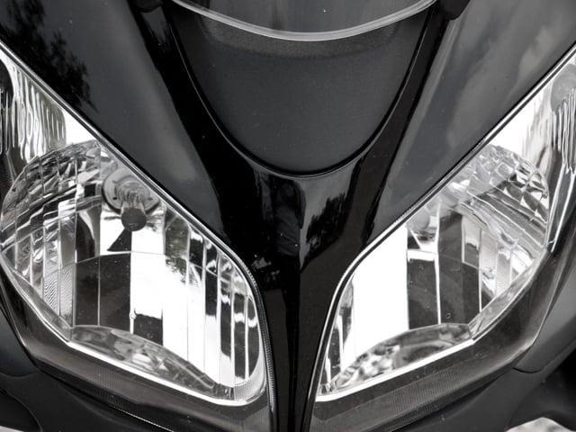 Symmetrie an einem Motorroller