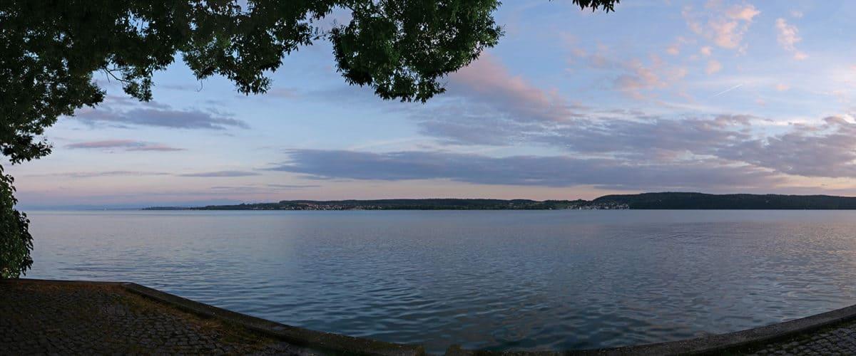 Panoramabild am Bodensee
