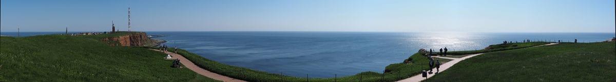 Panoramabild auf Helgoland