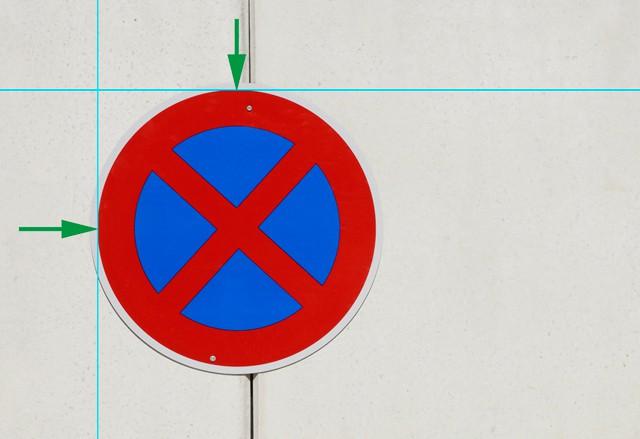 Bild 2 - Tangenten-Hilfslinien hinzufügen