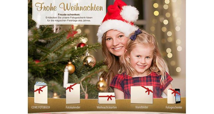 Cewe Weihnachtskarten.Cewe Weihnachtsgeschenkideen D Pixx