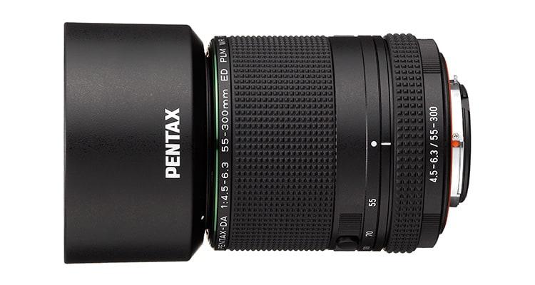 Pentax - Erstes Objektiv Mit KAF4-Bajonett