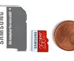 Samsung EVO Plus 256