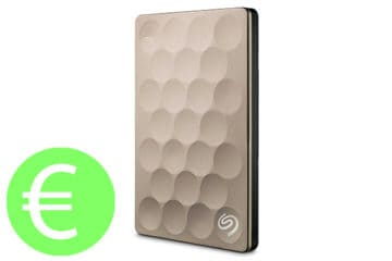 Seagate Slim Gold