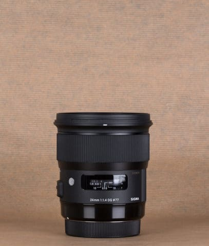 Sigma 24 mm f1.4 Art