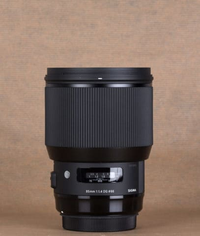 Sigma 85 mm f1.4 Art