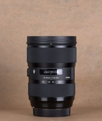 Sigma 24-35 mm f2 Art