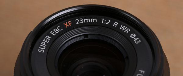 Fujifilm XF 23 mm F2