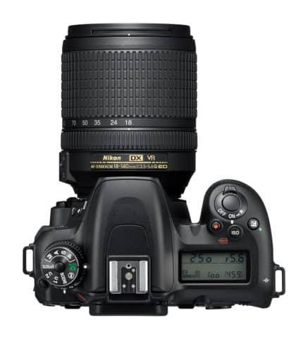 Nikon D7500 Top