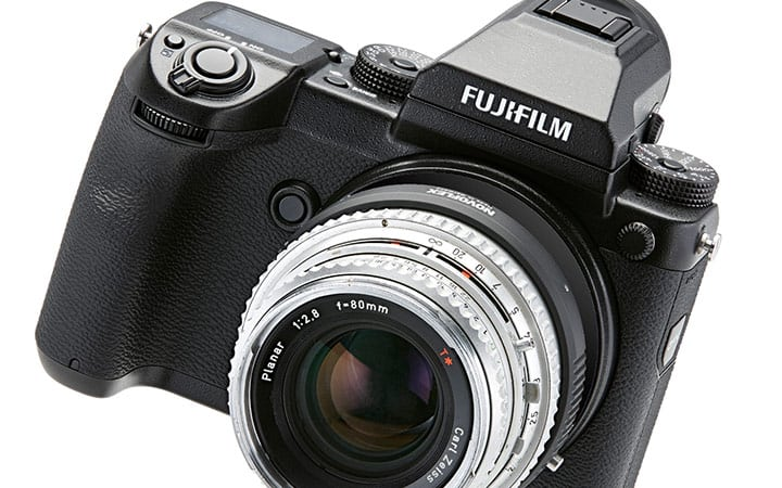 Novoflex Adapter an Fujifilm GFX 50S