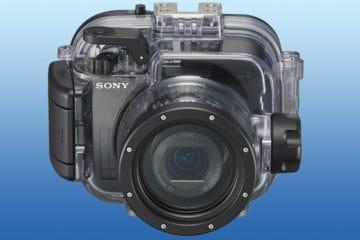 Sony Unterwasser-Gehäuse
