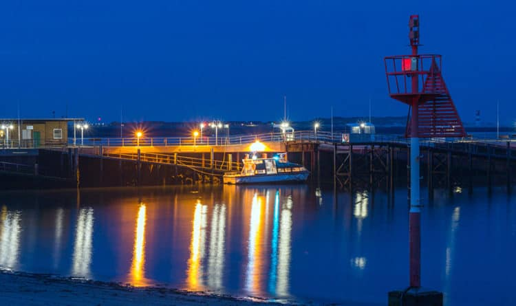 Helgoland Nacht