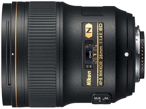 Nikon 1,4/28 mm