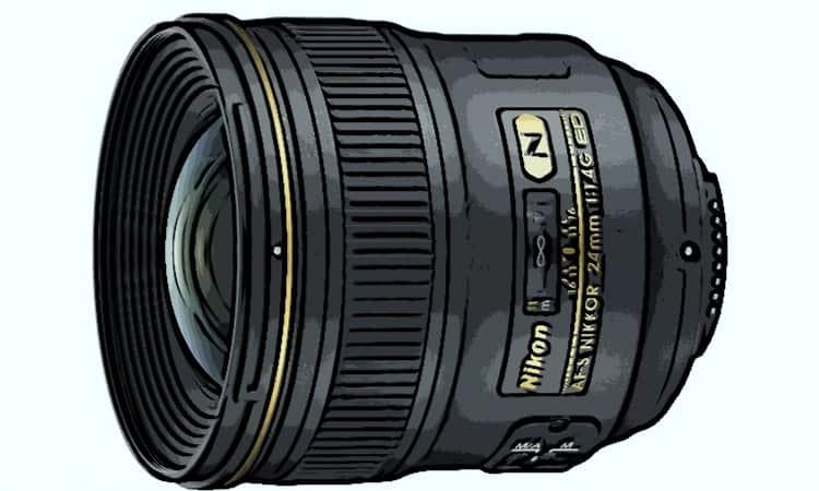Nikon 28 mm f1.4