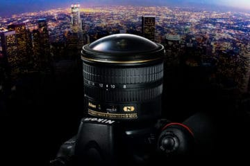 Nikon 8-15 mm Fisheye-Zoom