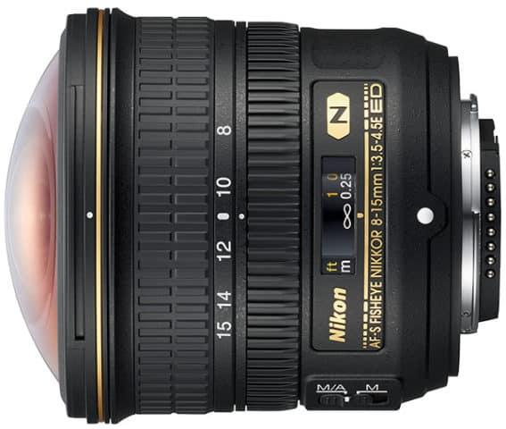 Nikon 8-15 mm Fisheye-Zoom