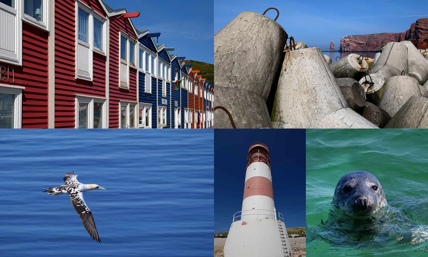 Helgoland Collage
