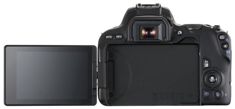 Canon EOS 200D Back
