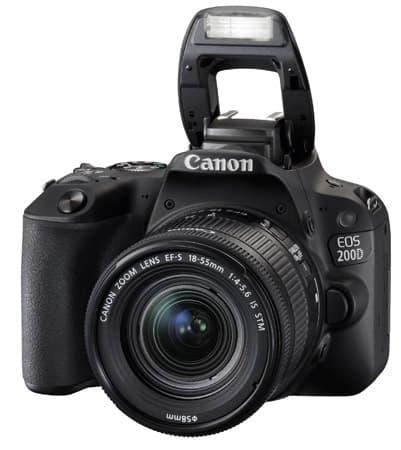 Canon EOS 200D Flash