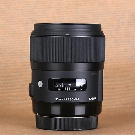 Sigma 35 mm f1.4 |Art