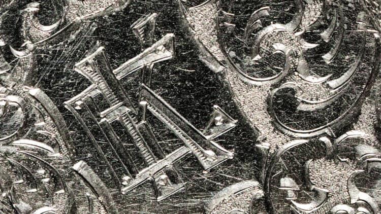 Medaillon Nahaufnahme