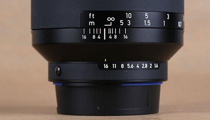 Zeiss Milvus 35 mm f1.4 T*