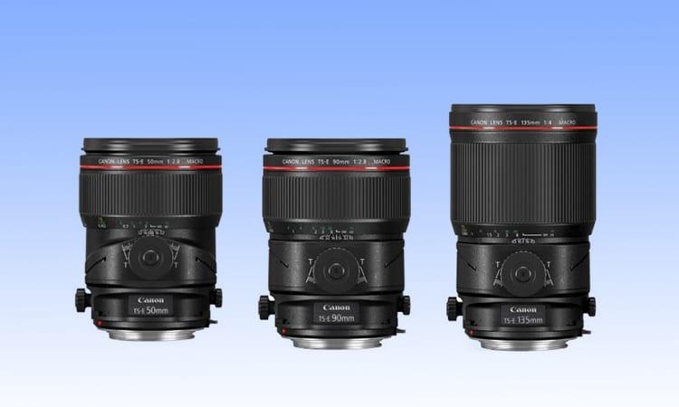 Canon TS-E Objektive