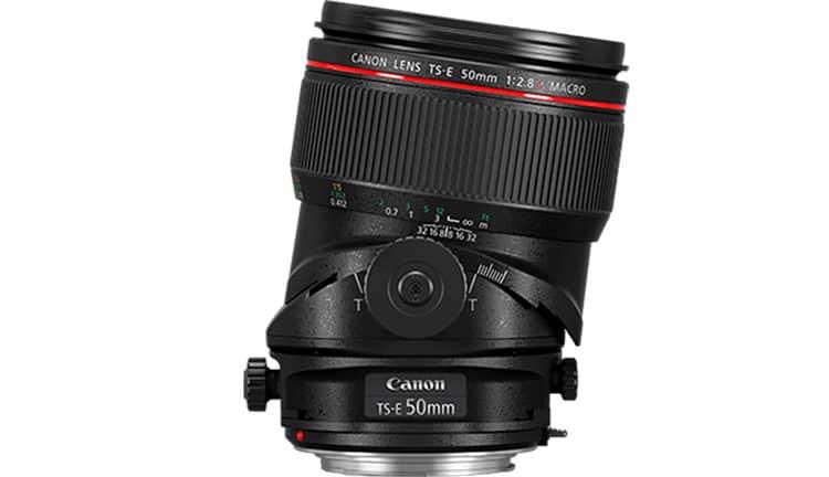 Canon TS-E 50 mm