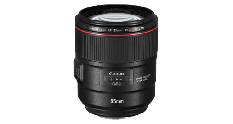 Canon EF L 85 mm
