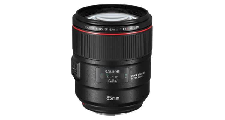 Canon EF L 85 mm