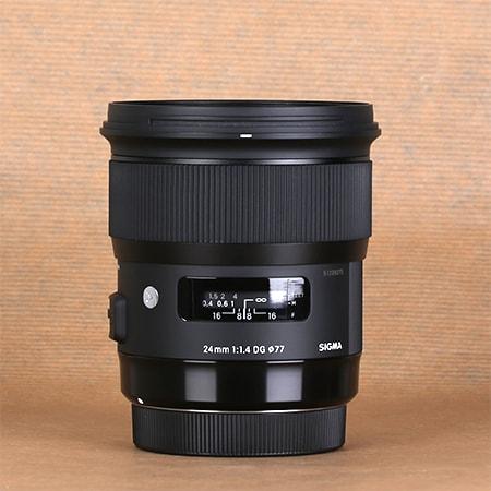 Sigma 24 mm f1.4 ART