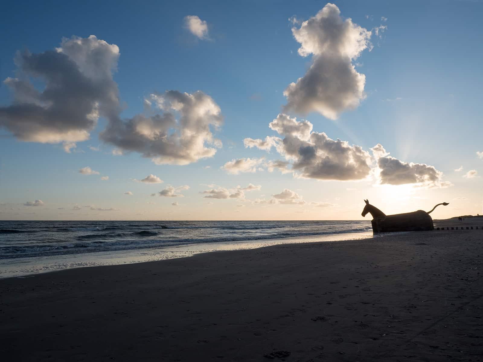 Blavand, Strand, Sonnenuntergang