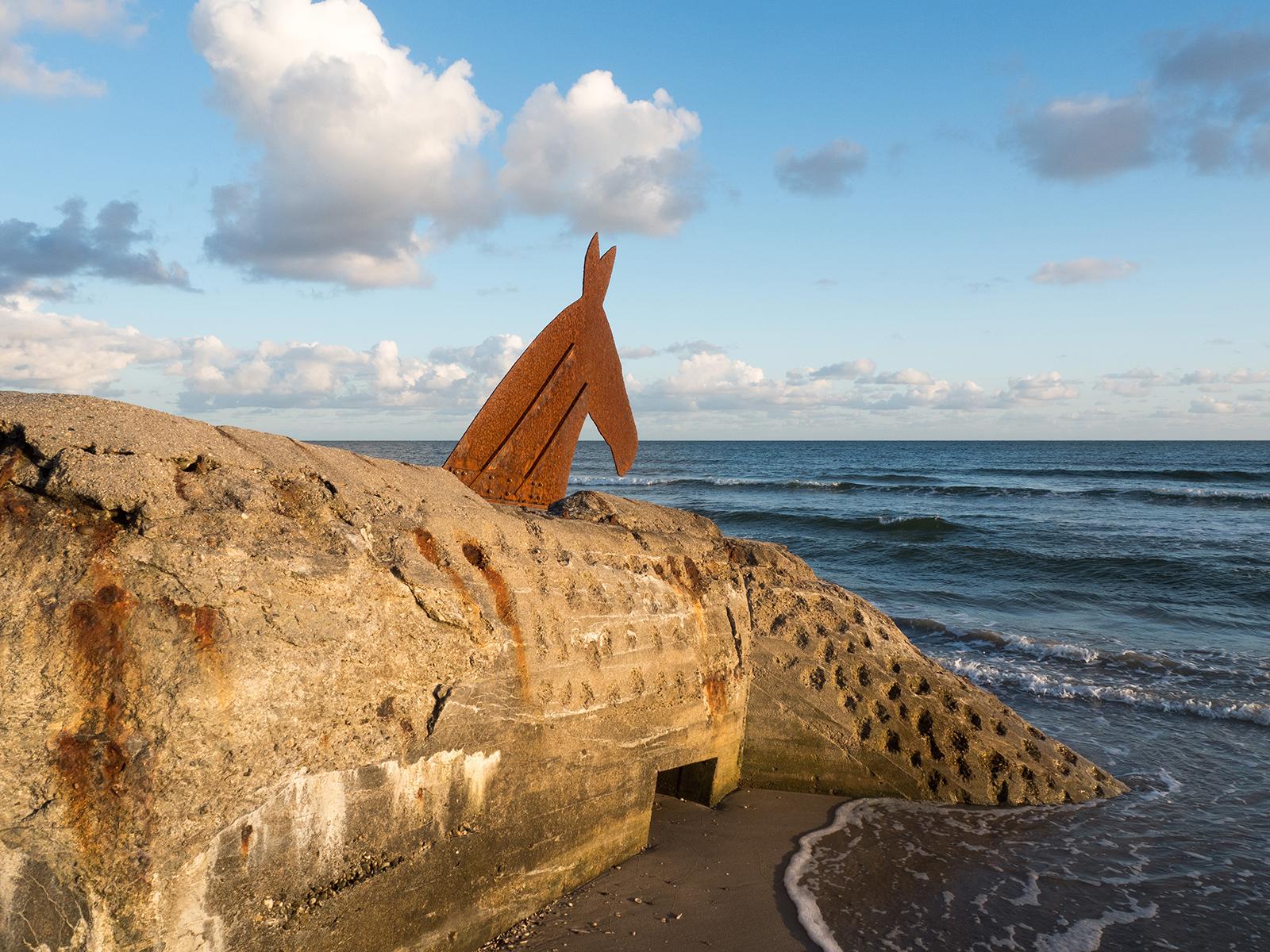 Ehemaliger Westwall-Bunket am Strand von Blavand