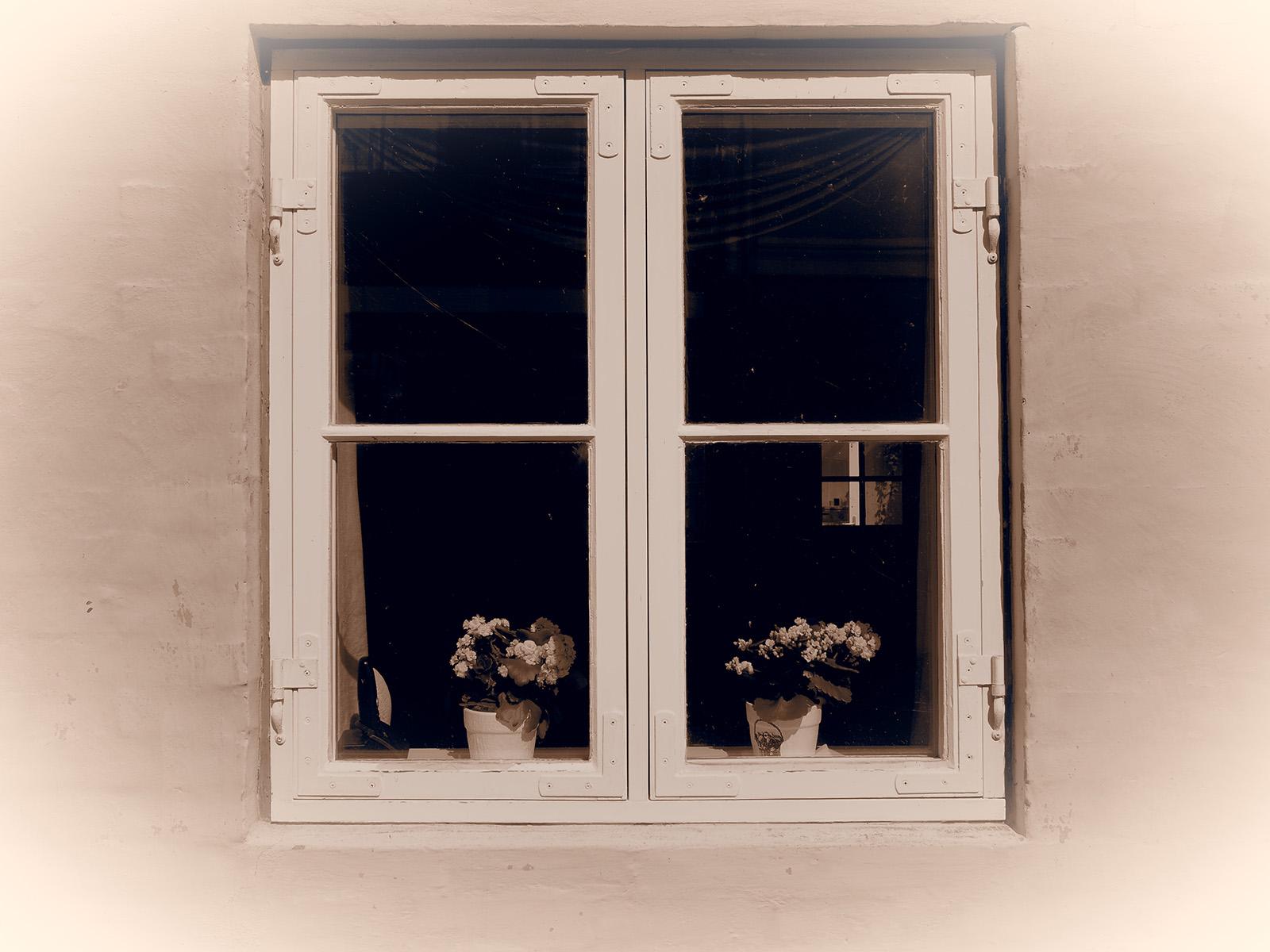 Fenster, Vintage-Stil