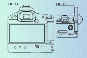 Canon Rückwandmonitor