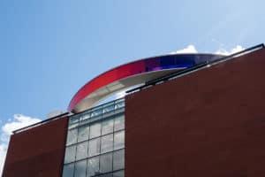 Aarhus, Museum mit Regenbogen