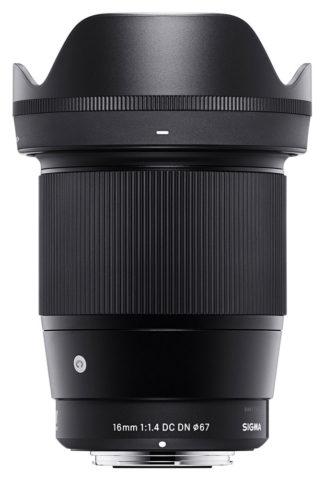 Sigma 1,4/16 mm DC DN