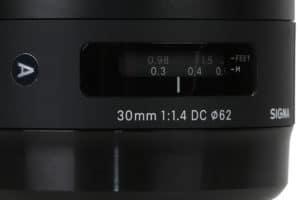 Sigma 1,4/30 mm DC | Art