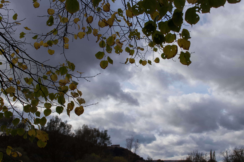 Wolken über dem Saaletal bei Hammelburg. Objektiv: Sigma 1,4/30 mm DC | Art