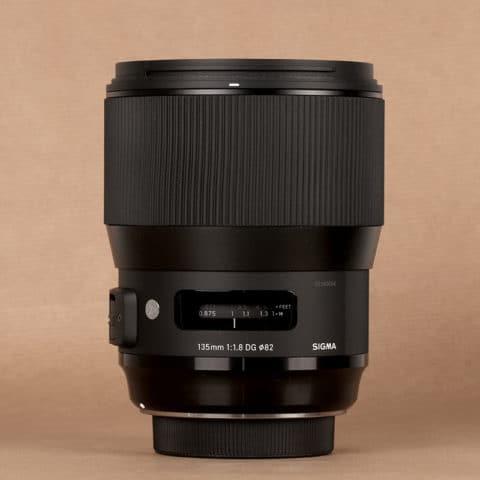 Sigma 135 mm ART